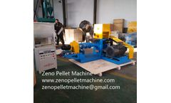 Operation effect fish feed extruder output