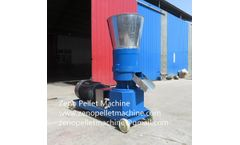 Zeno - Model ZNKL300 - Feed pellet making machine for poultry and livestock