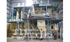 Zeno - Model ZNFKL1000 - Poultry feed production plant