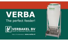 VERBA Speedfeeder Productmovie English - Video