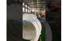 White HDPE conduit pipe manufacturer - Video