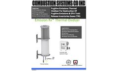 Brochure Emission Rx Thermal Oxidizer
