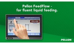 Liquid Feeding for pigs - Pellon Feedflow - Video