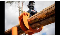 Overview of BMF forestry trailers and cranes 2020 FIN - Video