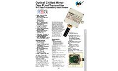 Omega - Model RHCM-40 Serie - Optical Chilled Mirror Dew Point Transmitter - Brochure