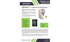 WIRAC - Model Maximus-Ex - Hazardous Area Gas Generators - Brochure