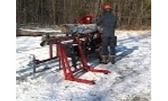 Blacks Creek Firewood Processor - Model 1500 - Video