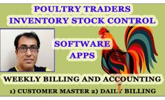 Poultry Trading Software, Poultry ERP Software, Poultry Farming Software, Poultry Accounts Software - Video