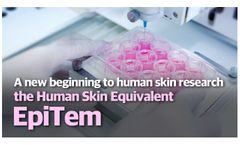 A new beginning to human skin research - the Human Skin Equivalent EpiTem - Video