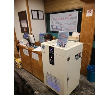 Air Pressure Purifier for infection control-2