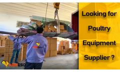China's Leading Supplier For Modern Poultry Equipment | Agrieso Machinery Co.,Ltd. - Video