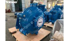 TH8/6E Slurry Pumps and TP100RV Vertical Slurry Pump to Indonesia