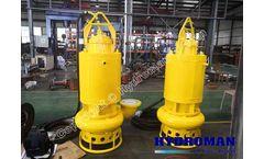 Hydroman - Model 300TJQ - Dragflow Submersible Slurry Pumps