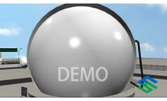 Biogas Plant Demostration from Mingshuo New Energy Chinese Manufacturer - Video