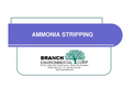 Ammonia Stripping Explained Brochure (PDF 602 KB)