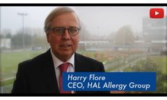 HAL Allergy Group: Dr. Harry Flore (CEO) - Video