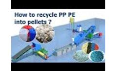 Plastic recycling lines and machines videos