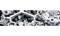 Shredders and crushers for casting components sector
