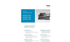 Erdwich - M250/2 Two-Shaft Shredder - Technical Datasheet