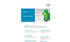 Erdwich - Hammer Mills - Technical Datasheet