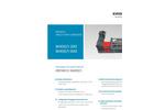 Erdwich M400/1 200 & M400/1 400 Single Shaft Shredder - Datasheets