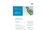 Erdwich M600/1¬400 & M600/1¬600 Single Shaft Shredder - Datasheets