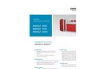 Erdwich M800/1-1400 - M800/1-1700 - M800/1-2000 Single Shaft Shredder Data Sheets