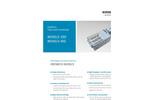 Erdwich M350/2-350 - M350/2-410 Two Shaft Shredder Data Sheets