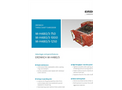 Erdwich M H480/3 750 - M H480/3 1000 - M H480/3 1250 Three Shaft Shredder Data Sheets