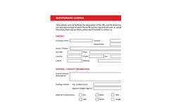 Questionnaire General