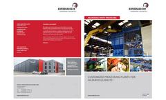 Hazardous waste Treatment - Brochure