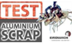 SHREDDING TEST | Aluminium Scrap -