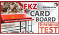 SHREDDING TEST | CARDBOARD - FKZ