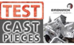 SHREDDING TEST | Aluminium Cast Pieces - Gussteile RM1350
