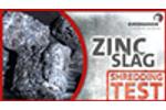 SHREDDING TEST | Zinc Slag - Zinkschlacke M600/M465 | Erdwich Zerkleinerungssysteme GmbH