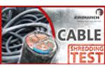 SHREDDING TEST | Electric Wires - Kabel H480 | Erdwich Zerkleinerungssysteme GmbH