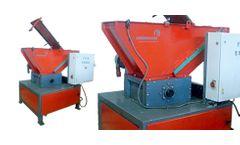 Erdwich - Model 2442 - Single-Shaft Shredder M600/1-400-5,5 kW