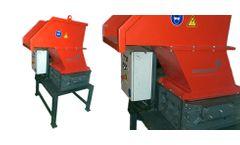 Erdwich - Model 2167 - Two-Shaft Shredder M465/2-480-11 kW