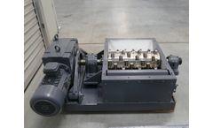 Erdwich - Model M600/1-600-9,2 kW - Single-Shaft-Shredder