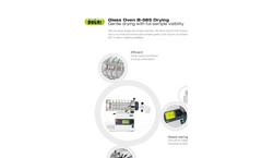 BUCHI - Model B-585 - Glass Laboratory Oven Drying Brochure