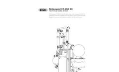 Rotavapor - Model R-250 EX - Industrial Evaporation Brochure