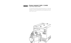C-601 / C-605 Pump Module - Technical Datasheet