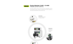 C-601 / C-605 Pump Module - Brochure
