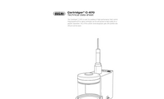 Cartridger C-670 High Efficiency Cartridge Packing - Technical Datasheet