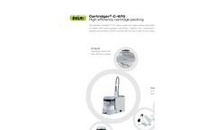 Cartridger C-670 High Efficiency Cartridge Packing - Brochure