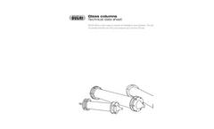 Glass Columns - Technical Datasheet
