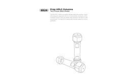 Prep HPLC Columns - Technical Datasheet