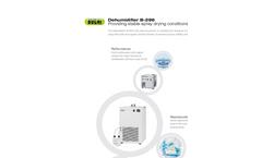 Dehumidifier B-296 - Brochure