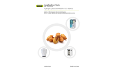 Application Note: Hydrogen cyanide determination in food and feed