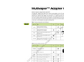 Adapter Guide Multivapor Brochure